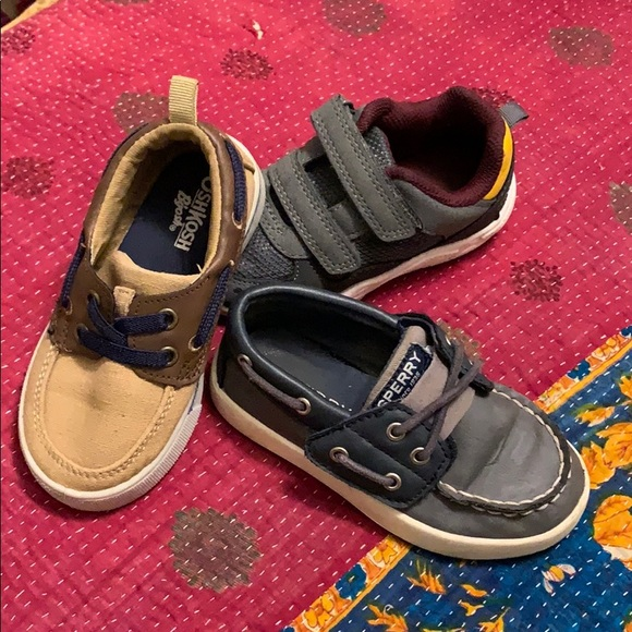 Sperry Other - Lot of size toddler 8 shoes